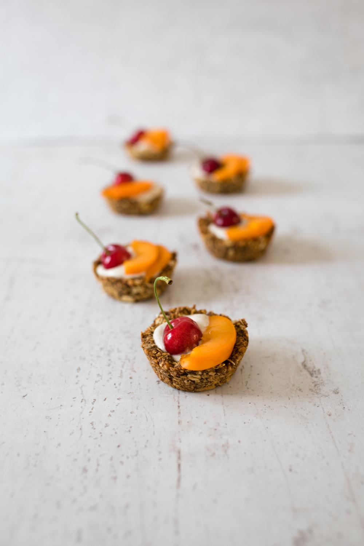 Granola cups med Cashewyoghurt - Till frukost