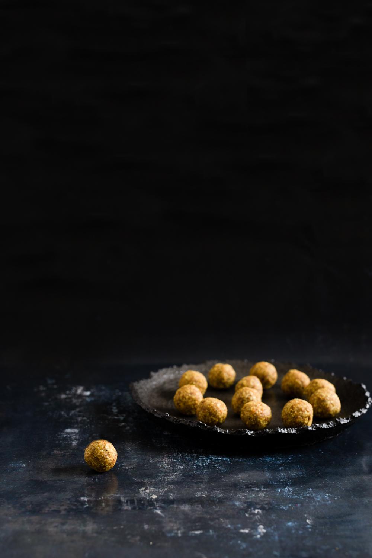 Turmeric bliss balls - Mer gurkmeja
