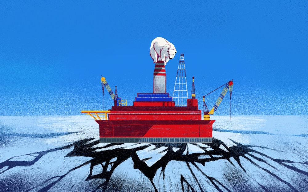 Drilling in the Arctic Wildlife Refuge