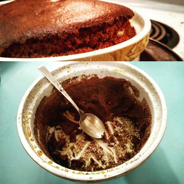 Failed Souffle still okay, actually, in case you were worried. #gcbsbakealong