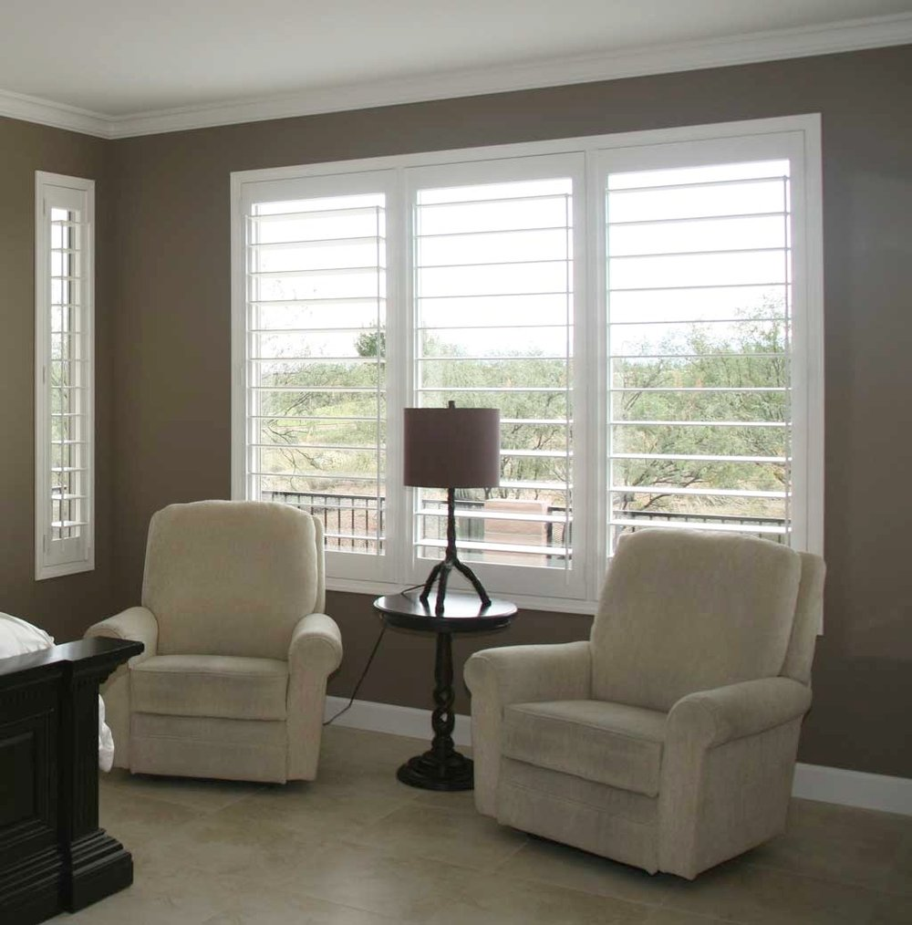 custom shutters designed and built in tucson