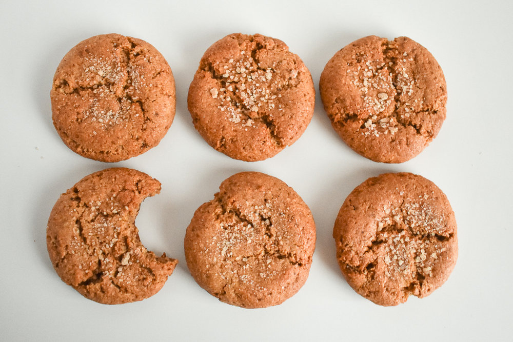 Gingerbread Cookies - Grain-Free