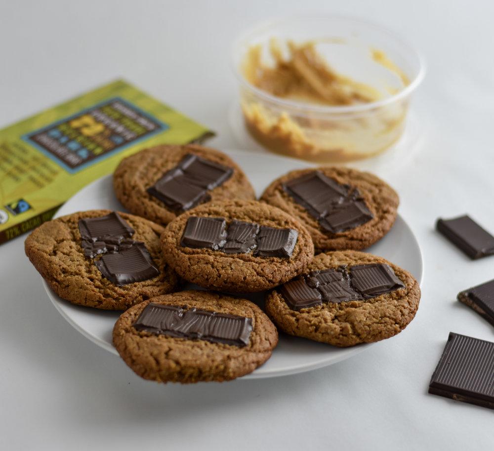 Peanut Butter Cookies - Gluten Free & Dairy Free