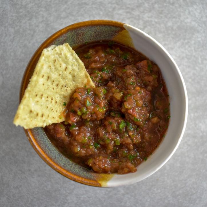 Low-FODMAP Salsa - Onion and Garlic Free!
