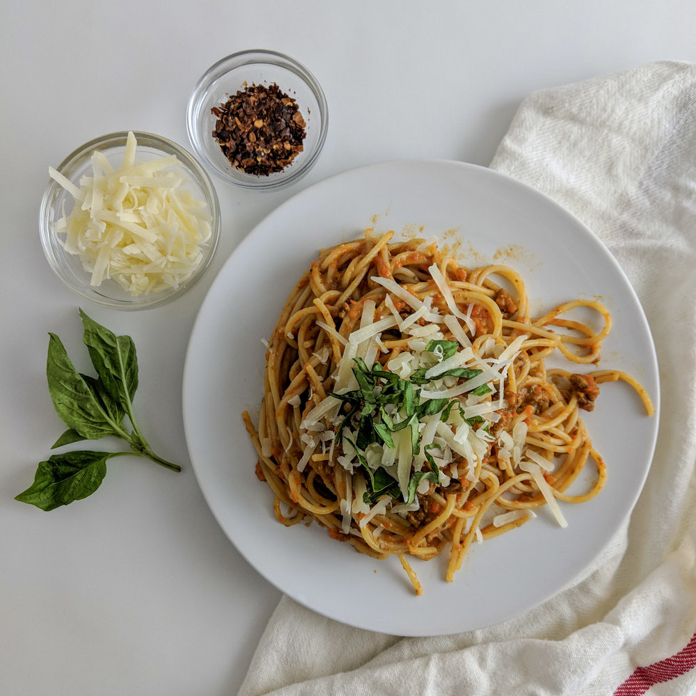 Roasted Vegetable Pasta Sauce - Low-FODMAP and SO GOOD!