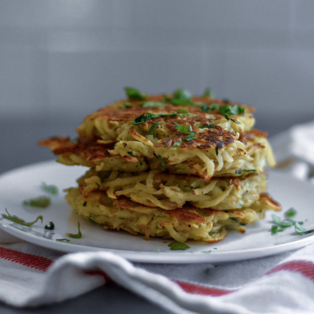 LATKES - LOW-FODMAP!