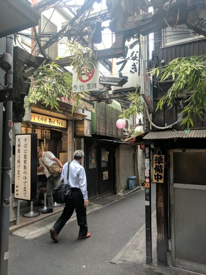 Beautiful Alleyways of Tokyo! Always great food.