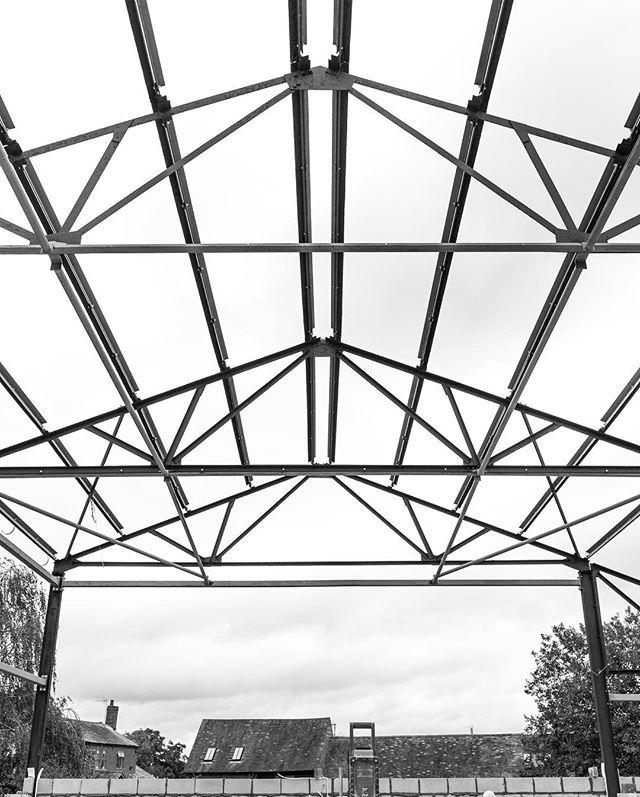 Early morning site inspection at our barn conversion in Packwood🧐  #barnconversion #classq #contractor #classq #steel #lapworth #dorridge #knowle #dorridge #solihull #solihullbuilder #solihullarchitect #designandbuildsolihull #packwood