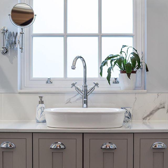 Bespoke bathroom design, on another stunning project in #Dorridge.  #interiordesign #interiordesigner #contractor #solihull #lapworth #knowle #ullenhall #bathroomdesign #bathroomdesignideas #cabinet #cabinetry