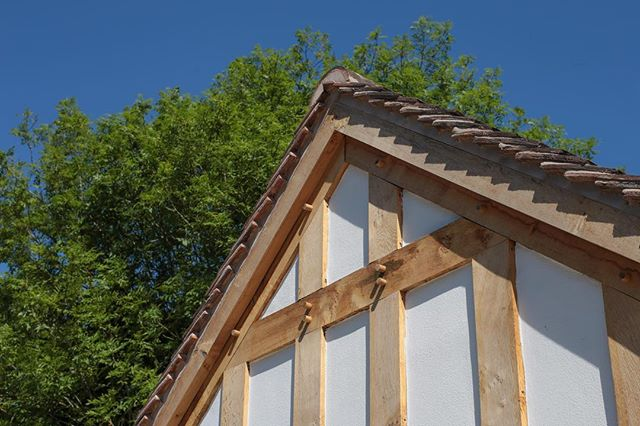 Junction   #contractor #partyspace #oakframe #limerender #render #carpenter #listedbuilding #knowle #dorridge #solihull #lapworth