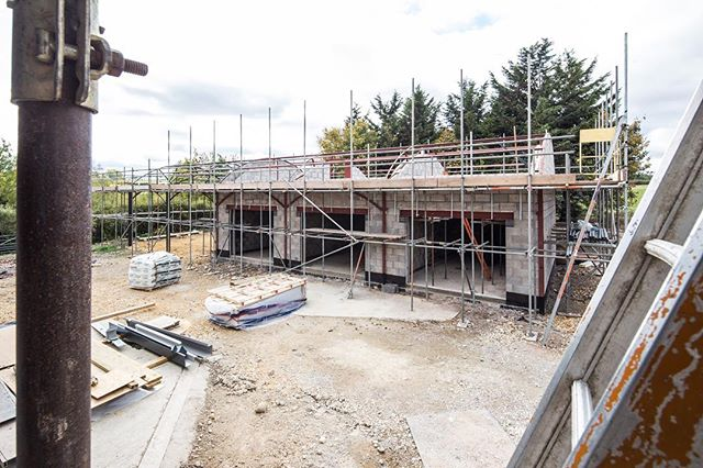 Progress shots of our class Q barn conversion in Warwickshire  #classq #barnconversion #contractor #conversion #stratford #warwickshire #solihull #dorridge #knowle #solihulldesignandbuild #construction