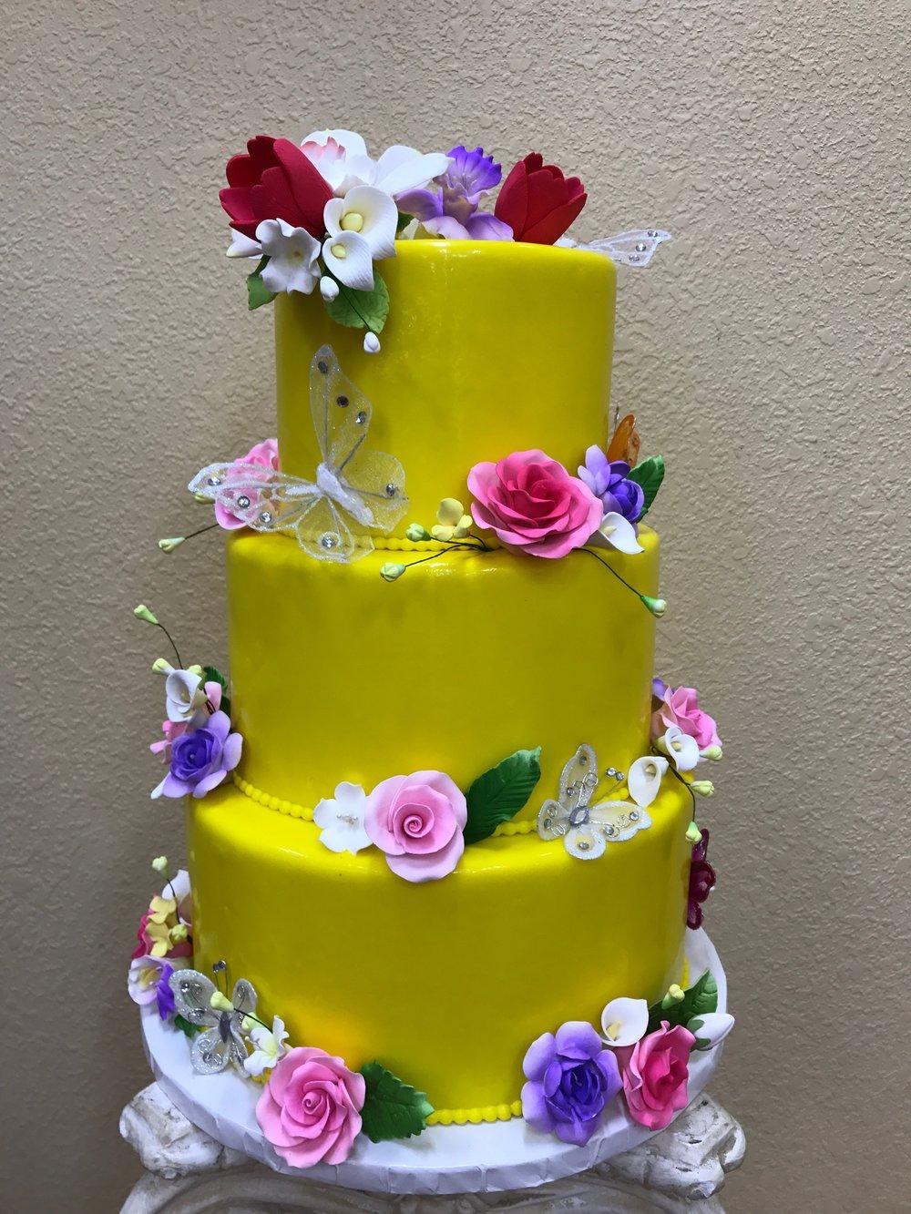 Sunrise Bakery Wedding Cakes — Sunrise Bakery