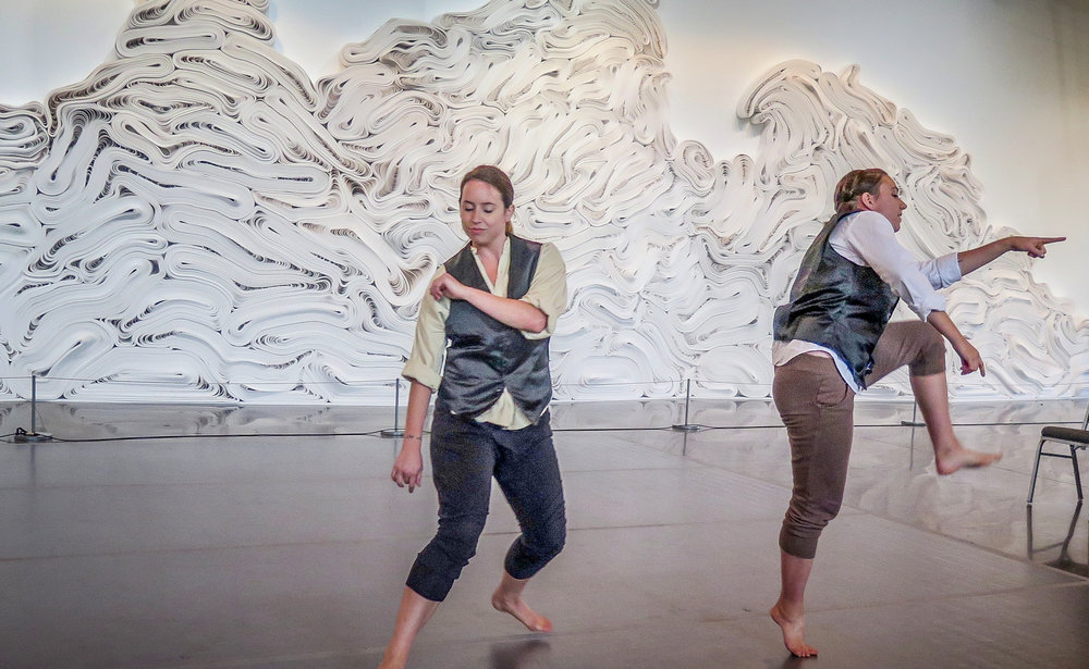 Bulls   Choreographer, Performer Photographed: Shannon McGee, Emma S. Kimball