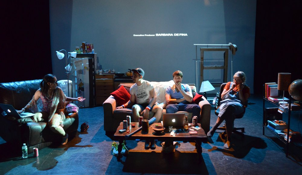 (Projection)  by Amelia Parenteau Director Photographed: Marielle Young, Tony Curtis, Thomas Vieljeux, Maddie Fischer Photo Credit: Bre Northrup