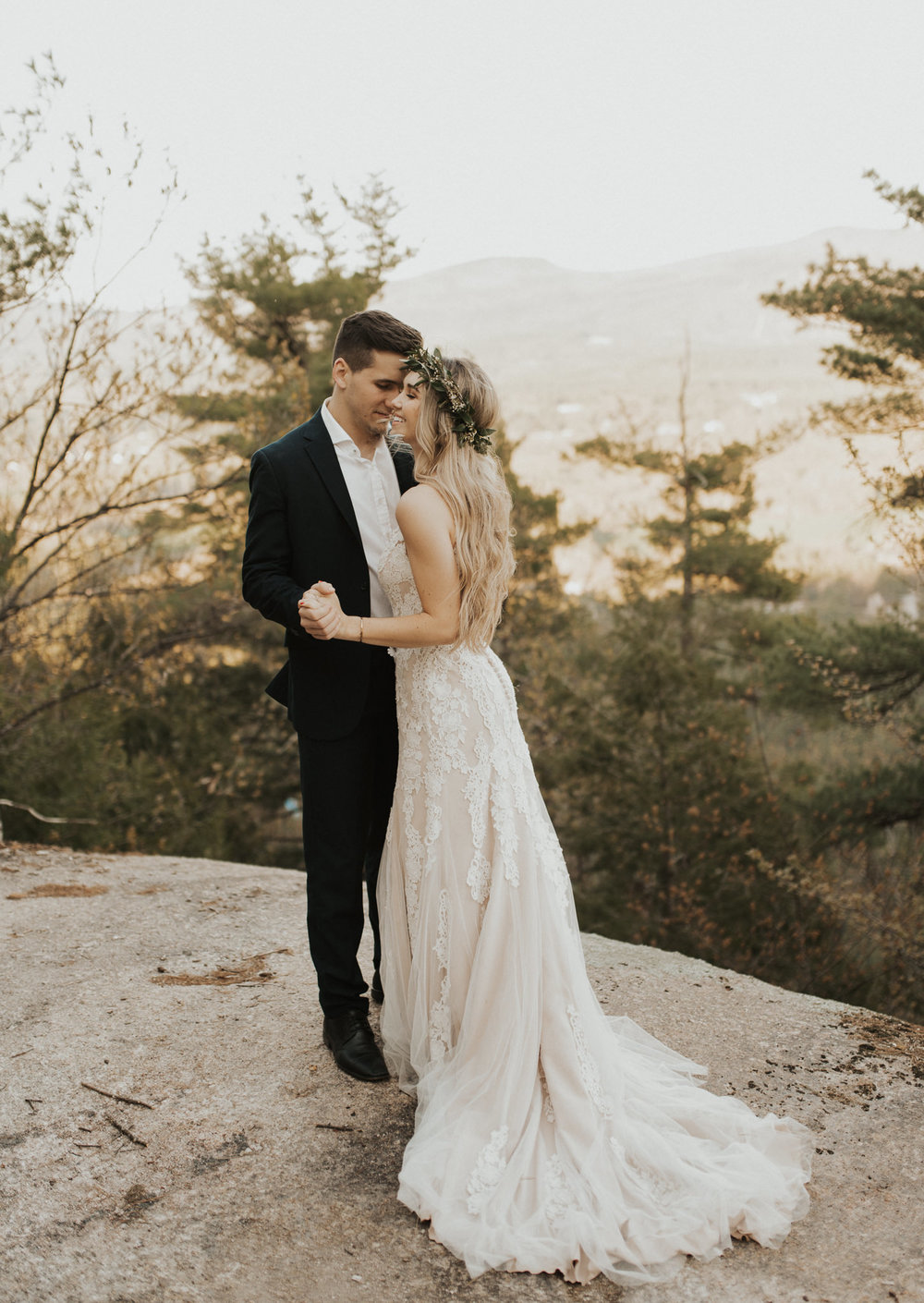 White Mountains NH Elopement