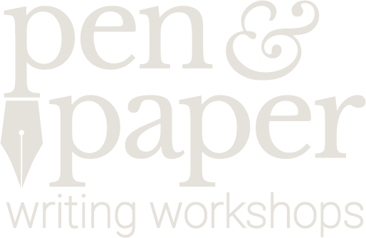 Pen & Paper Writing workshops, Los Angeles, CA, logo (light)