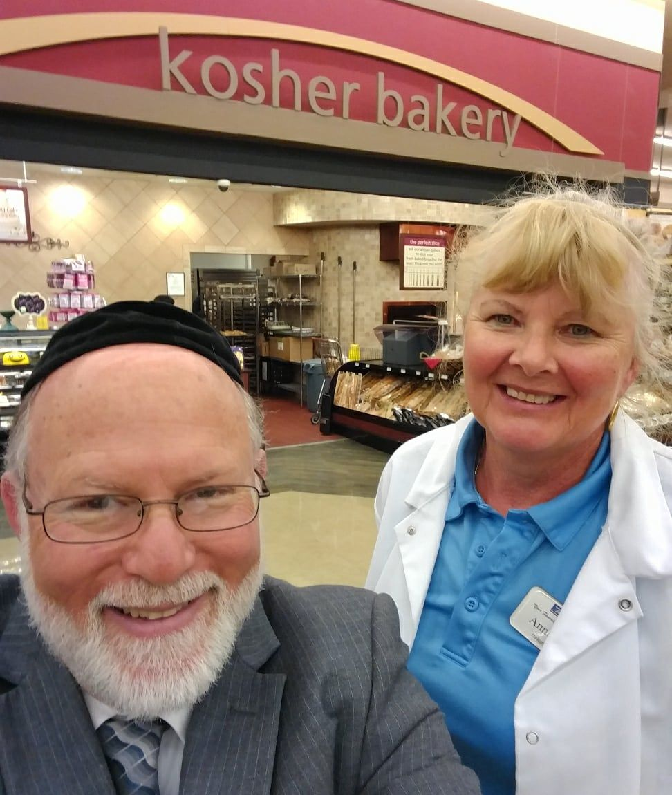 Ann Davis is the kosher bakery manager at Tom Thumb South. Go give her a visit!