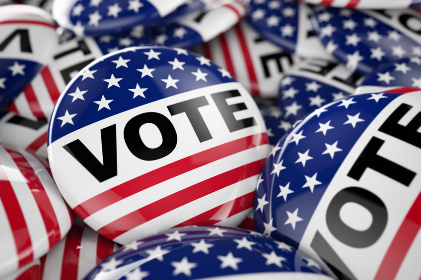 Vote! - Make sure you are registered to vote. That your address is up to date. Learn what the rules are for photo ID. How to vote absentee.