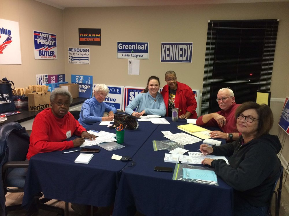 Volunteer - From committees to campaigns, from data entry to running for office, Lexington County Democratic Party has a place for you.