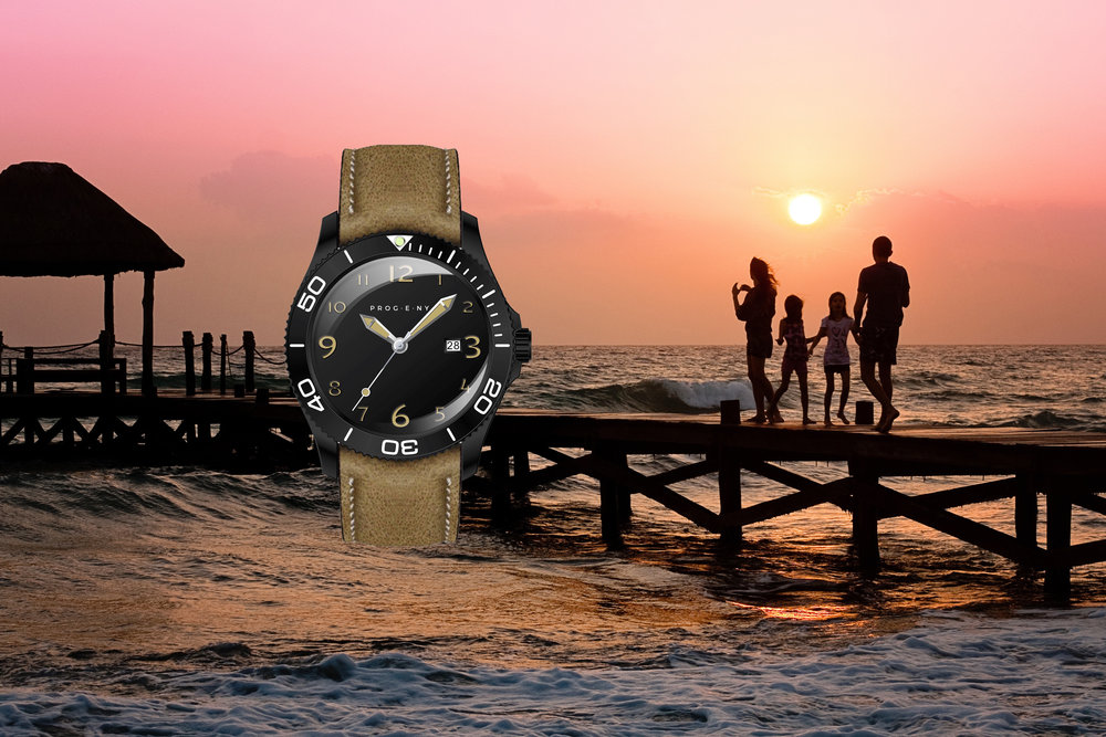 THE Night Diver - This watch takes inspiration from nights spent playing in the backyard past bedtime.