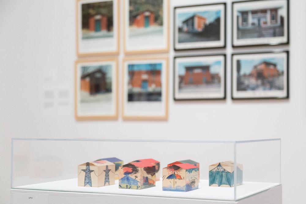 Centre Canadien d'Architecture | Mise en place finale, visite de presse et vernissage  Utopie Radicali : Florence 1966-1976