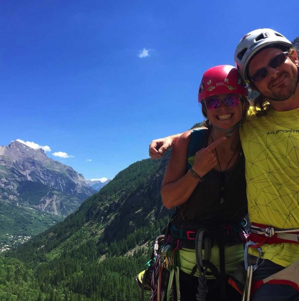 Come climbing with us where the sky always seems to be blue and make some great new friends.