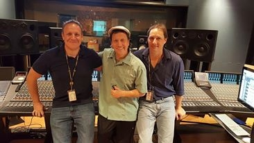 Audio Temple - Recording Session with Darren Schneider, Tracking/Mix Engineer, and Rob Schneider.
