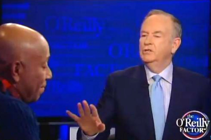 Bill O'Reilly Interviews Russell Simmons on March 12, 2014