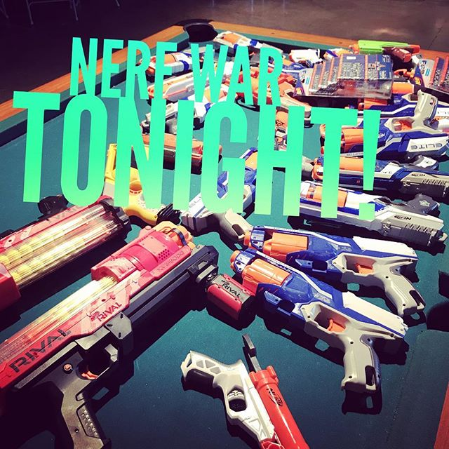 Come out at 6:30 tonight for a fun and exciting night!