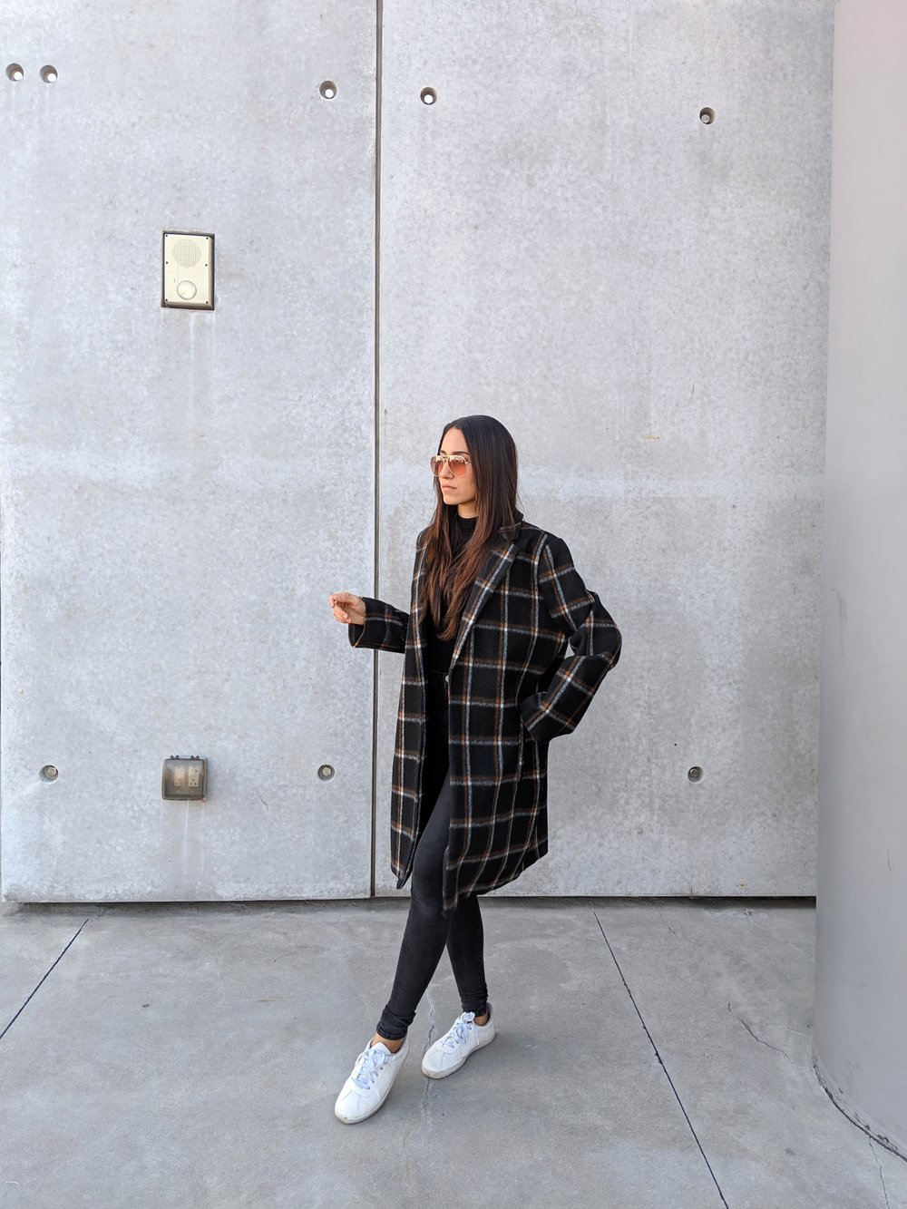 Wearing:  Nordstrom   Coat
