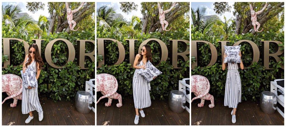 Simply Gharib Cafe Dior Miami