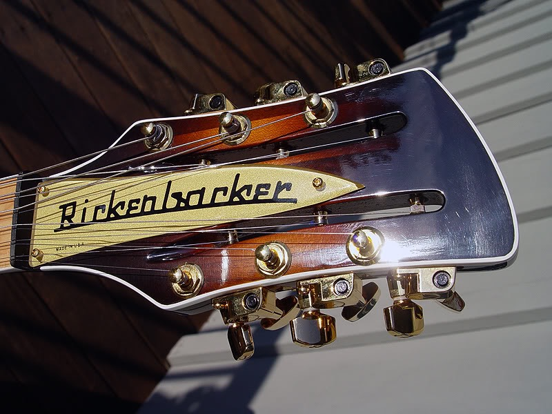 BOUND HEADSTOCK WITH SHADED GLOSS FINISH