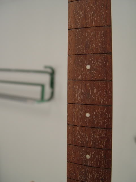 FRETBOARD WAS FLATTENED AND RE-CROWNED