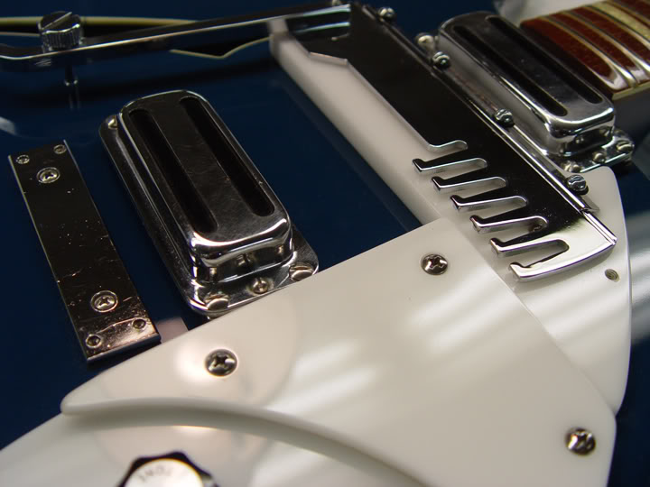 DETAIL PHOTO OF RE-PLATED HARDWARE