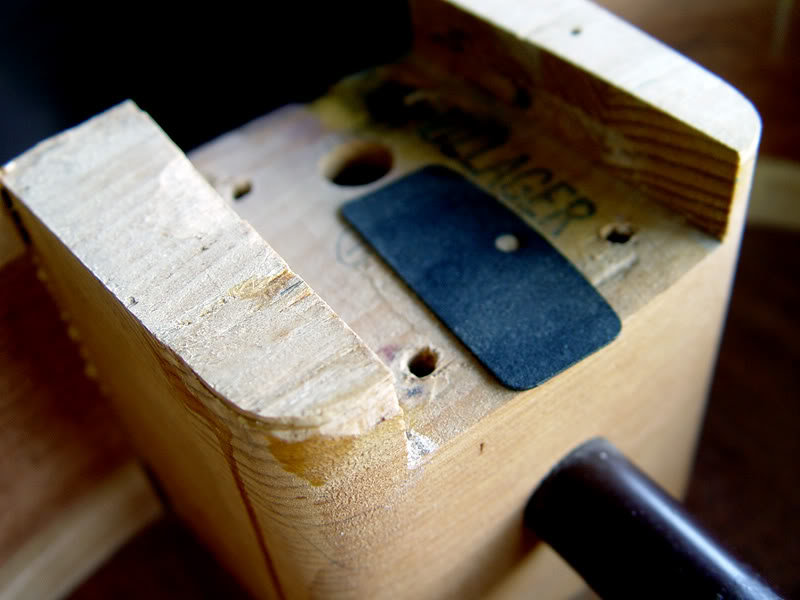 TELECASTER SHIMS USED FOR NECK