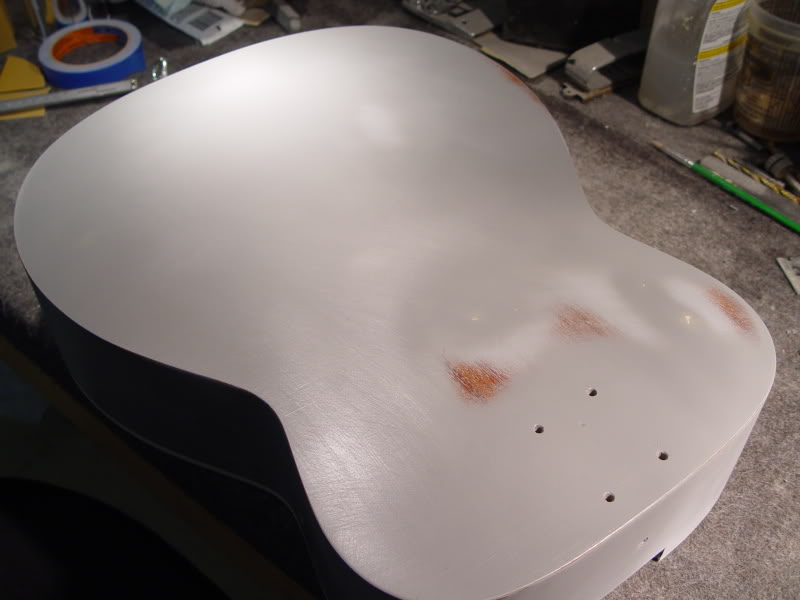BACK IS SANDED ABSOLUTELY FLAT