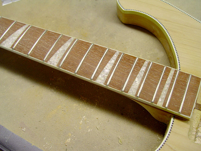 FRETBOARD AFTER RE-FRET