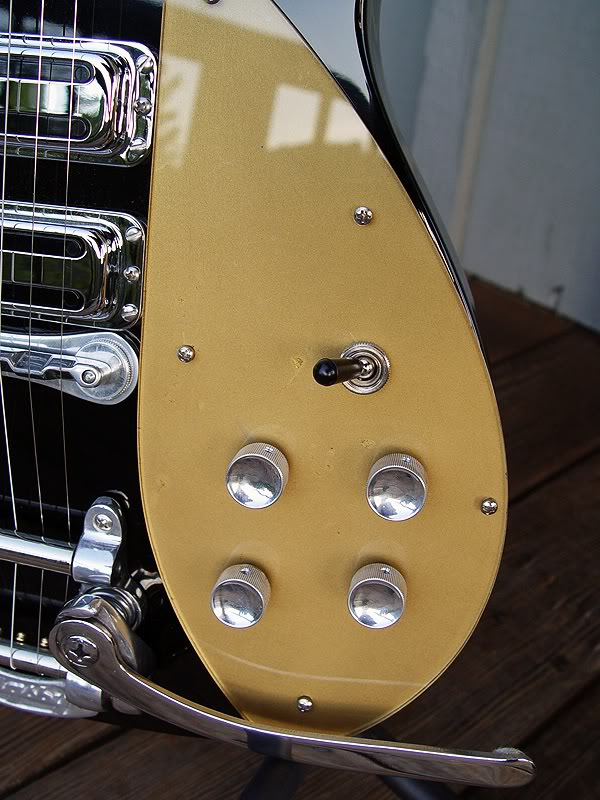 GENUINE DI MARINO PICKGUARD WITH TOUCHED-UP NICKS