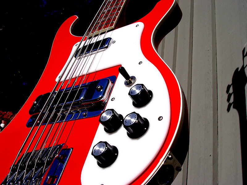 2007 5-STRING 4003 CONVERSION REFINISHED IN GUARDS RED