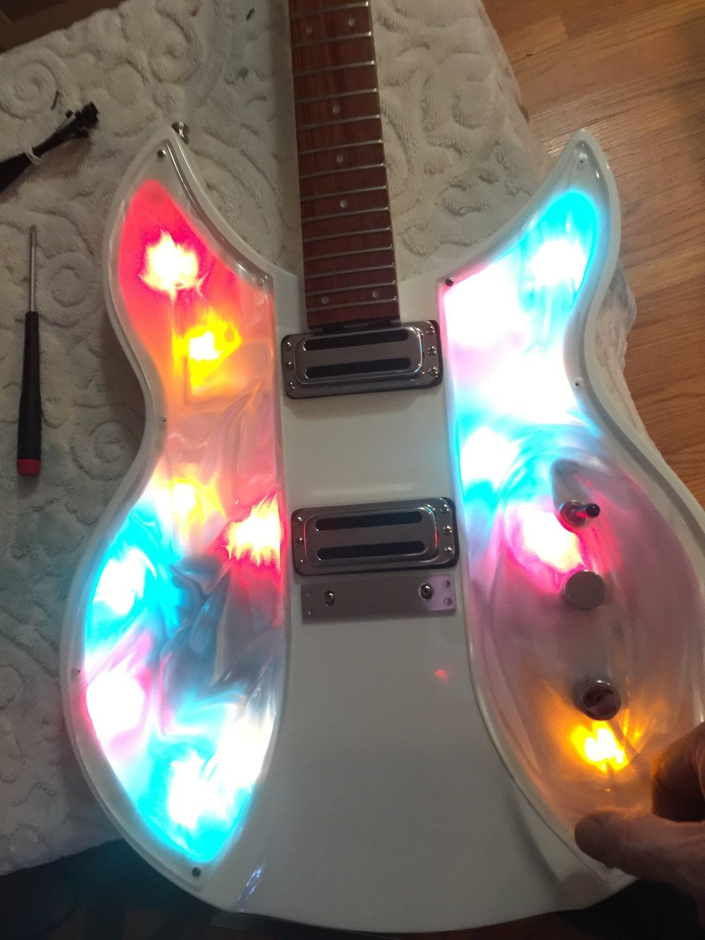 TESTING THE LEDS IN DAYLIGHT