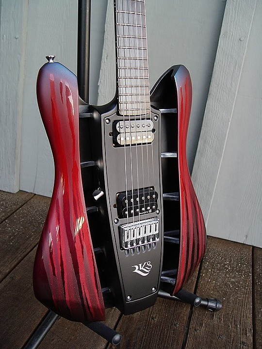 RKS GUITAR RE-THINKS TRADITIONAL GUITAR DESIGN IN A MODERN VEIN