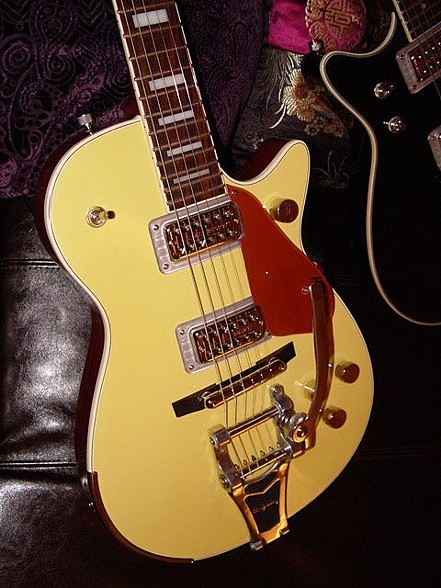 UPGRADED GRETSCH PRO JET IN BAMBOO YELLOW AND COPPER