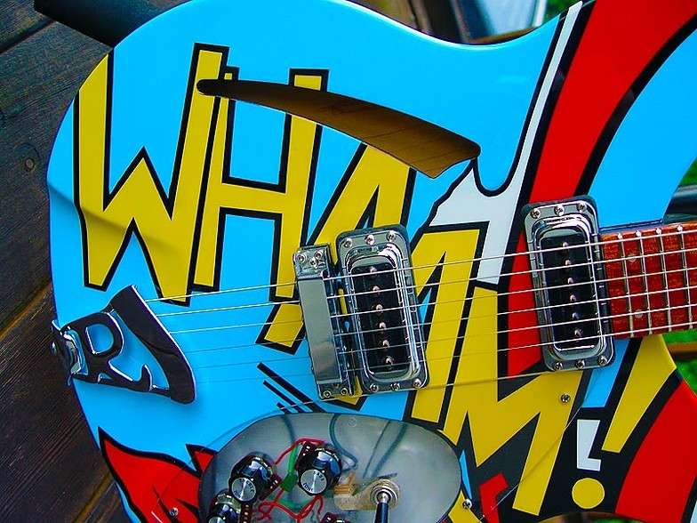 "PAUL WELLER 330 ""WHAAM!"" REPLICA"