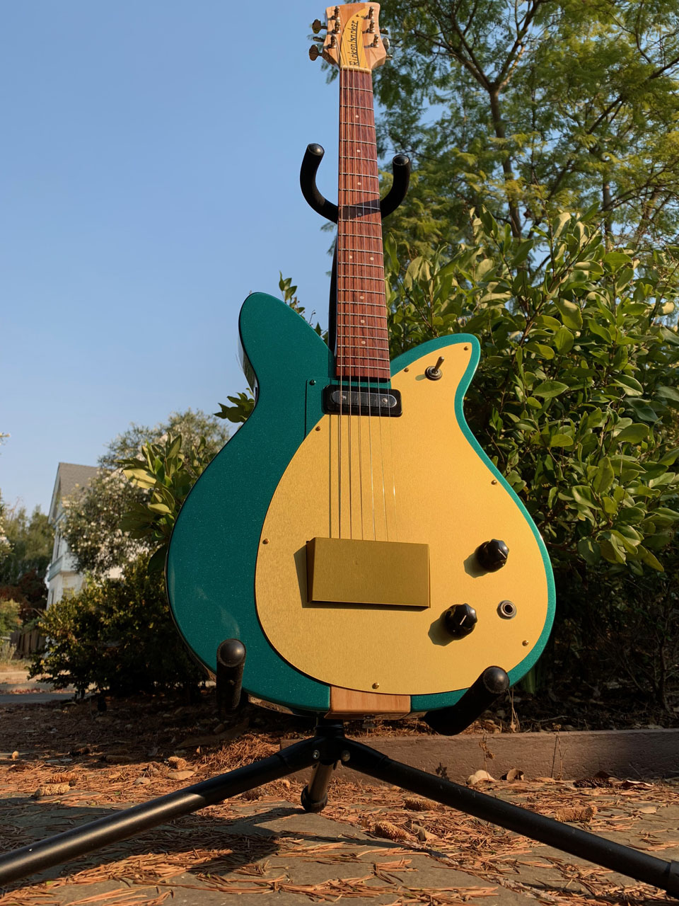 SECOND ITERATION, WITH MATCHING GREEN PICKUP SURROUND AREA