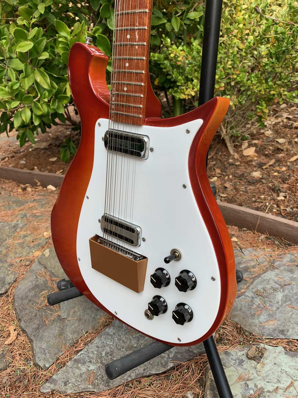 EARLY 1965 FIREGLO 450 12-STRING