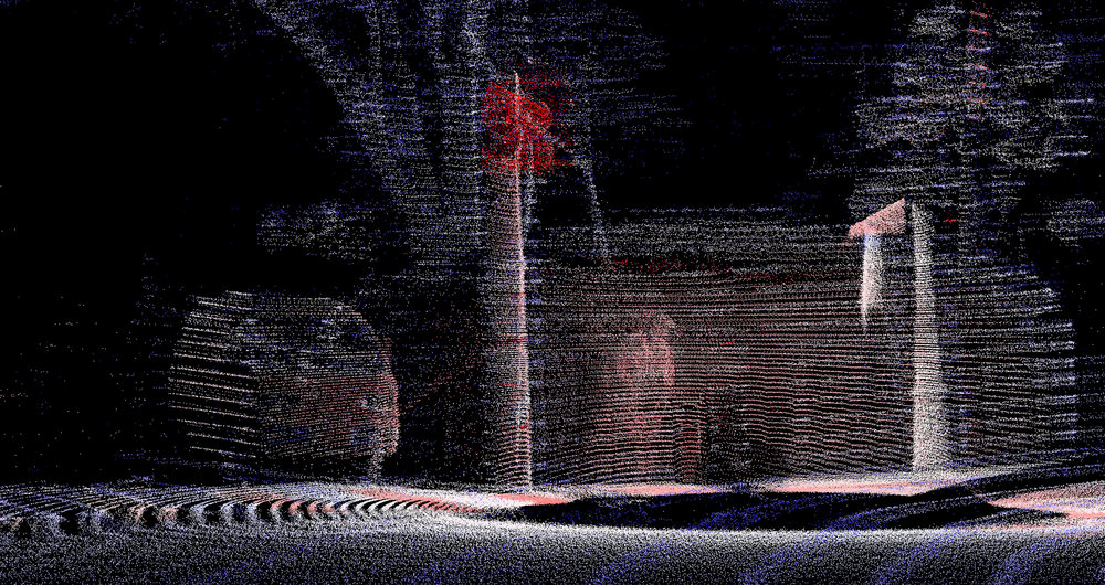 Keegan Hebert Point Cloud Ghosts