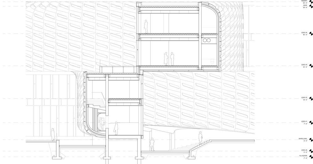 Keegan Hebert Dark Matters Wall Section