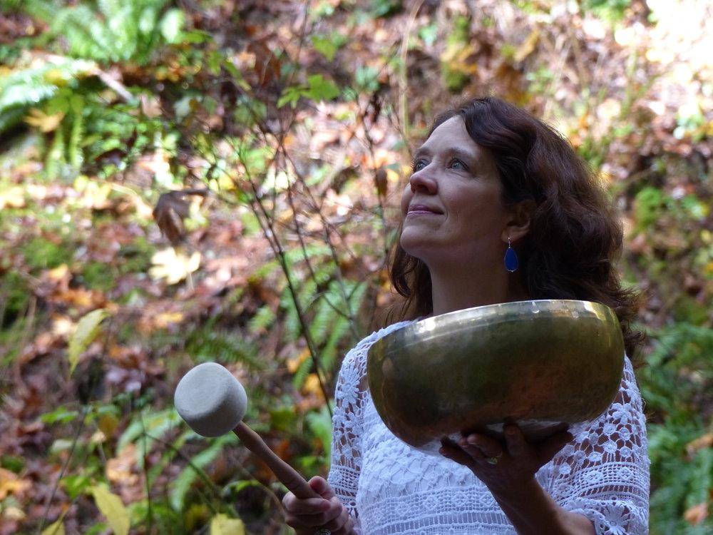 Inner Alchemy Sound Healer, Gail Kronberg.