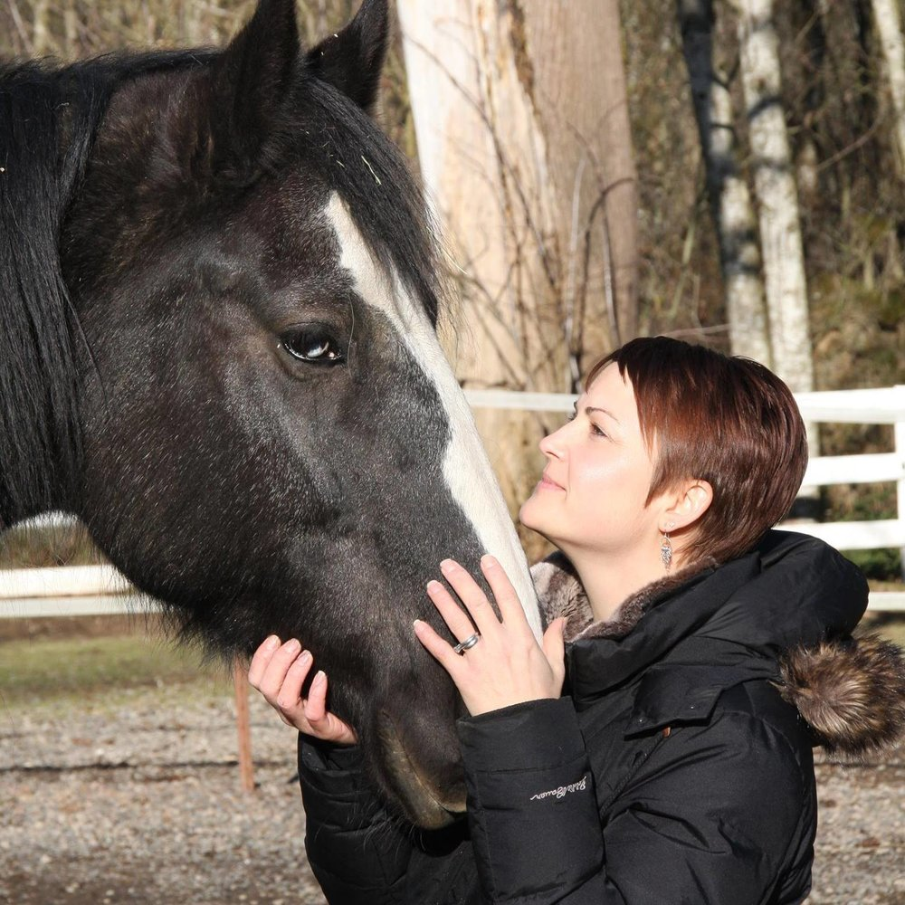 Becky and a horse.jpg