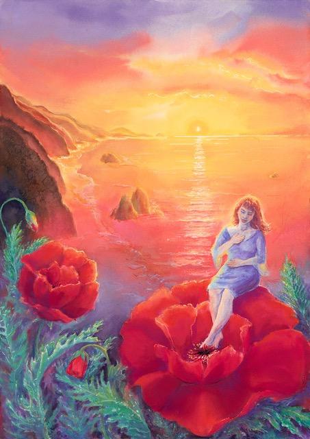 """Compassion"" by Artist Robin Maynard-Dobbs"